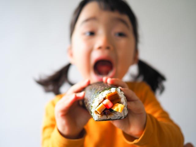 恵方巻きを食べる症状