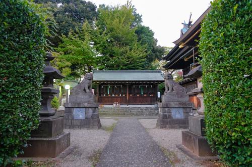 赤羽八幡神社 疱瘡神社